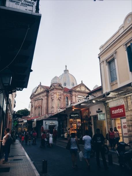 Yunanistan - Midilli - Ermou Caddesi